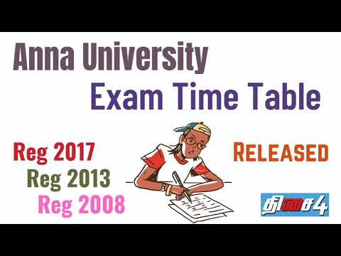 Anna University Results For Reexamination
