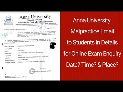 Anna University Results March 2021