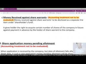 Money Received Against Share Warrants